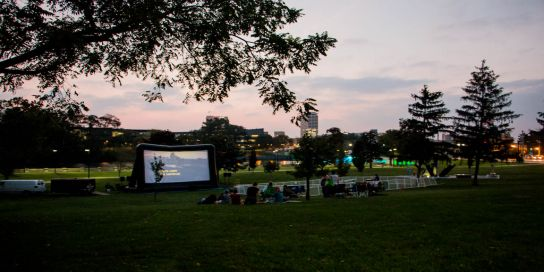 Warm Summer Nights & a Movie in the Park